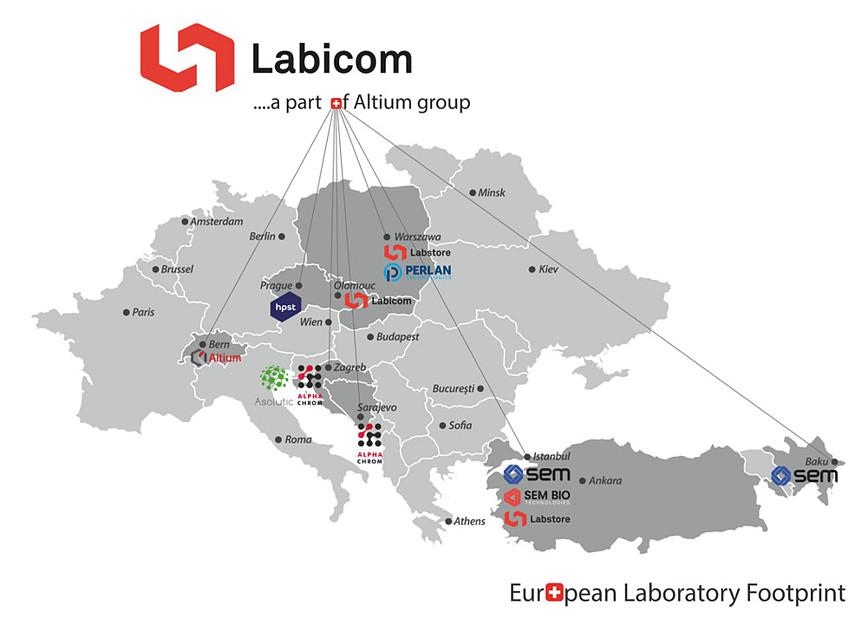 Labicom... a part of Altium group