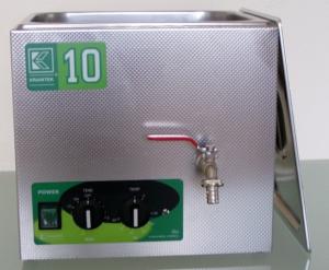 Vany s mechaLaboratorní i průmyslové ultrazvukové lázně, s výpustí i bez výpustě, s možností nastavení UZ výkonu Ultrazvuková lázeň s chlazením, s třepáním nebo pro čištění pipet a byretnickým ovládáním KREITEK
