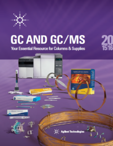 katalog GC and GC /MS (Agilent Technologies)
