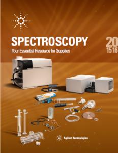 katalog Spectroscopy (Agilent Technologies)